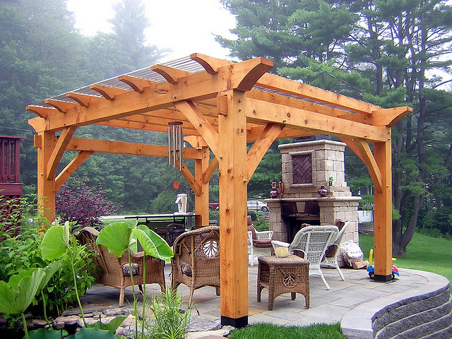 A pergola is a freestanding structure attached to a home. Originally,  pergolas are made to support the climbing plants as they are made with  supporting ... - Everything You Need To Know About Pergola Kits