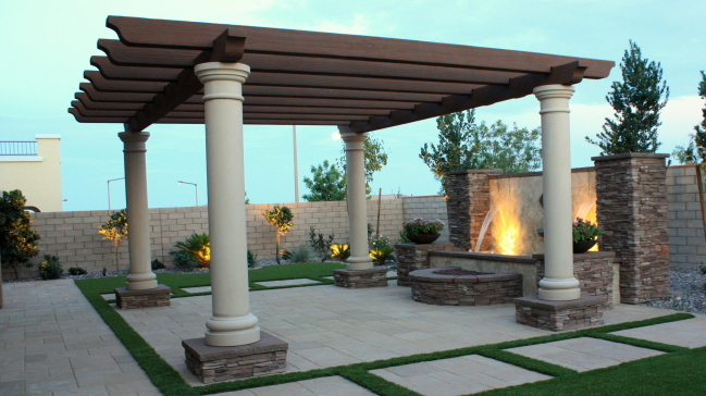 most pergola kits are made of timber making them perfect for outside use but it could also be made of aluminum and steel and it is roofed with different - Pergola Kit