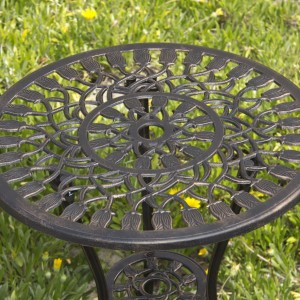 wrought table