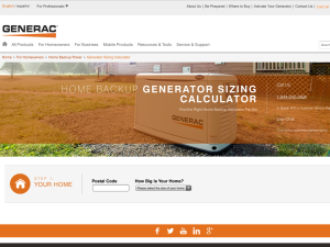 Portable Generator Calculator | What Size? | OUTDOOR LIVING