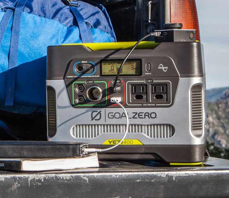 best camping generator goalzero 400