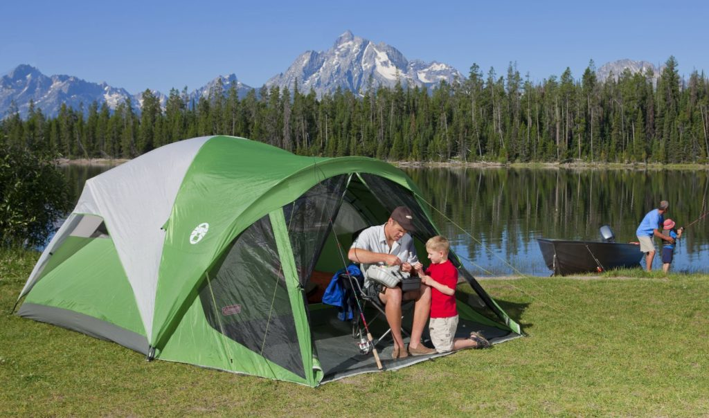 If you want a great Coleman c&ing tent that up to 8 people can sleep in comfortably offers unmatched protection against bugs is easy to setup and ideal ... & Best Coleman Tents | OUTDOOR LIVING online
